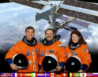 International Space Station Expedition 2 Official Crew Photograph